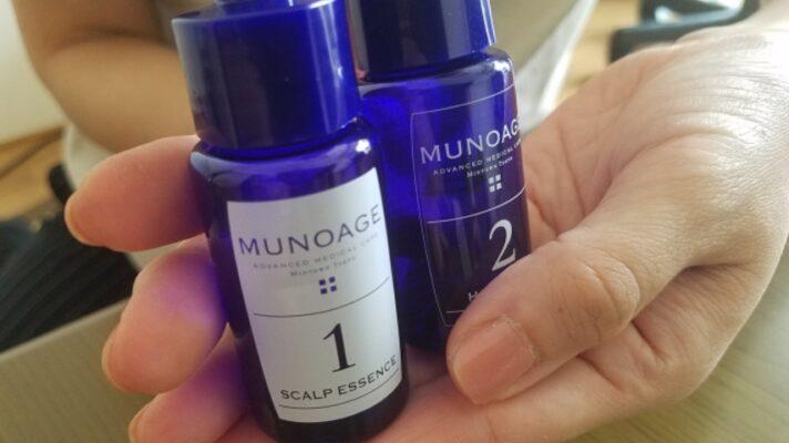 ミューノアージュ育毛剤1剤と2剤