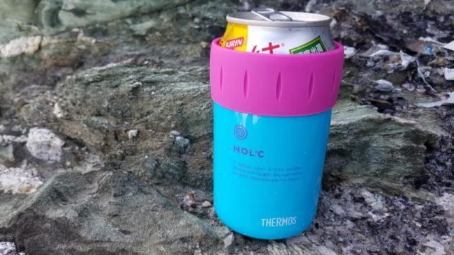 サーモス真空断熱缶ホルダー