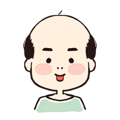 将来禿げればこんな感じになる