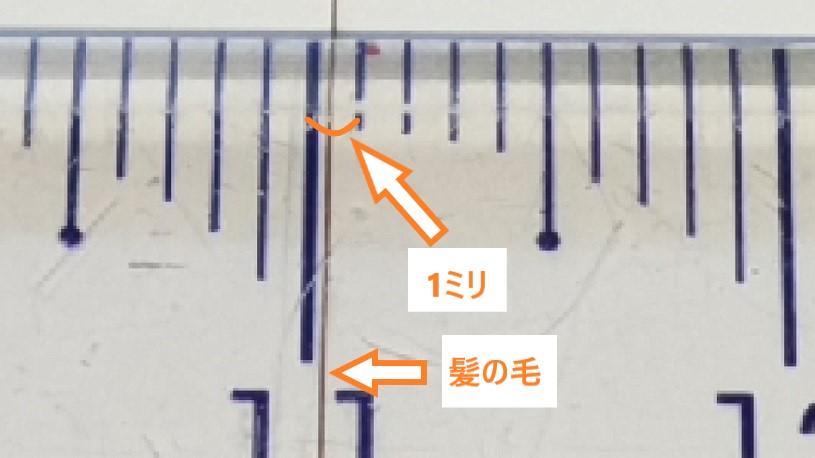 日本人女性の髪の太さ