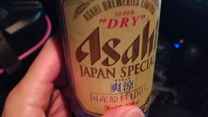 アサヒ缶ビール