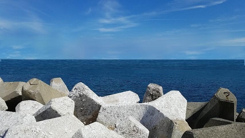 夏イカのポイントは阿尾漁港